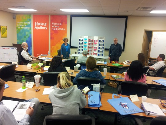 Students attend a HomeSource east tennessee Homebuyer Education course.